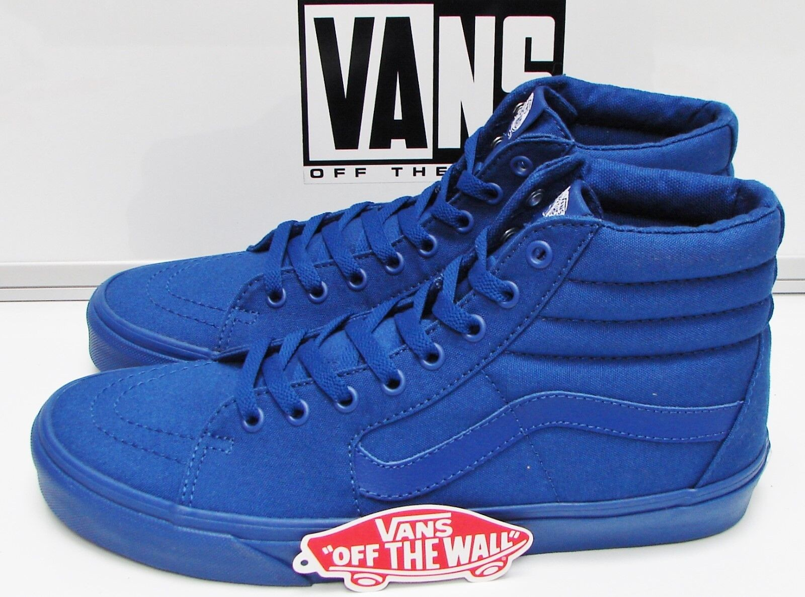Vans Sk8-HI (Mono Canvas) True bluee VN-000TS9JJM Men's Size  11