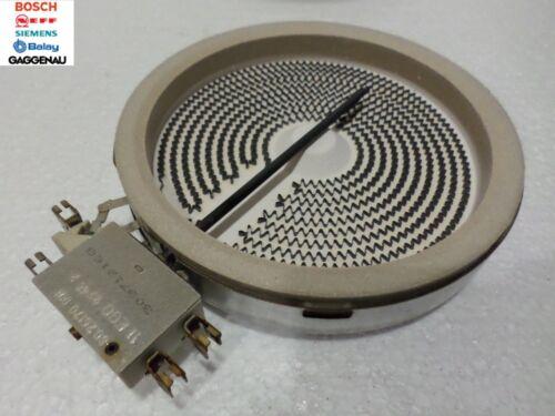 Bosch neff siemens céramique plaque chauffante élément pour plaques de cuisson 1200W-ego 10.54113.034
