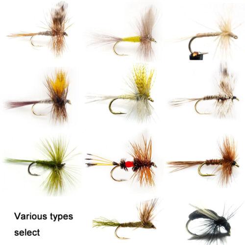 Aventik 6pcs May Flies Dry Trout Fly Fishing Flies Assortment super sturdy Flies