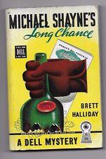 MICHAEL SHAYNE'S LONG CHANCE Brett Halliday 1st 1946 DellMap 112 Gerald Gregg C