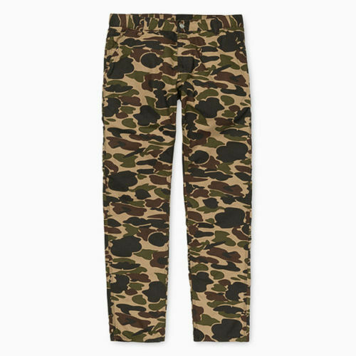 CARHARTT pantalon LINCOLN SINGLE KNEE PANT Anderson CAMO ISLE W32L32 Rinsed