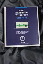 Mercedes Benz alte S-Klasse MBIG Handbuch W108/109