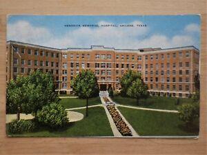Hendrick-Memorial-Hospital-Abilene-Texas-Postcard-posted-1953