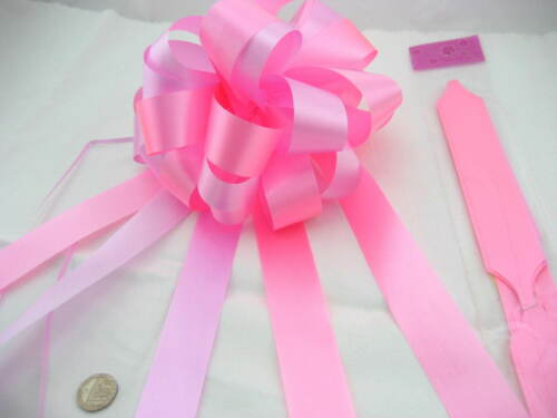 15pcs 17cm Large Pull bow Wedding Car Decorations Xmas Gift Wrap party Floristry