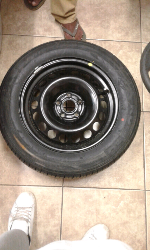 16 inch rims and tyre