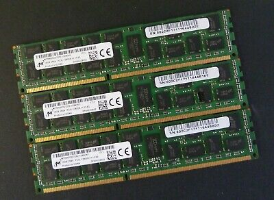 DDR3 PC3L-10600R ECC Reg Server Memory RAM Dell Precision T5610 4x8GB 32GB