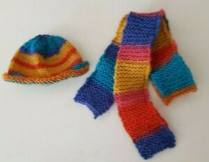 New-Fall-Fashion-Hat-With-Ear-Holes-Shawl-For-Approx-7-7-8-9-13-16in-Bears