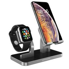 BENTOBEN Cell Phone Stand Compatible Apple Watch iPhone Android iPad Space Gray