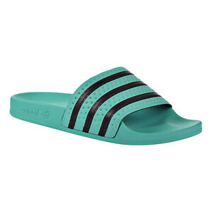 adidas slides green