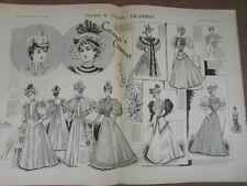 L' ART ET LA MODE - 1893 - No 22 - ILLUSTREE - COURSES DE CHANTILLY LE DERBY
