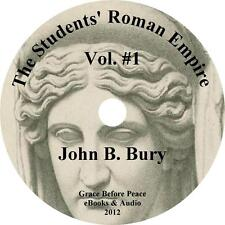 Students' Roman Empire, Vol 1 Greece Audiobook by John B Bury on 1 MP3 CD