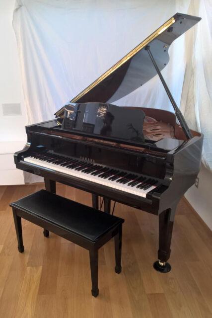 """YAMAHA C1 baby GRAND Piano, black polished ebony 5'-3"""""""
