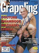 Randy Couture & Dan Henderson Signed 1998 Grappling Magazine PSA/DNA COA UFC MMA