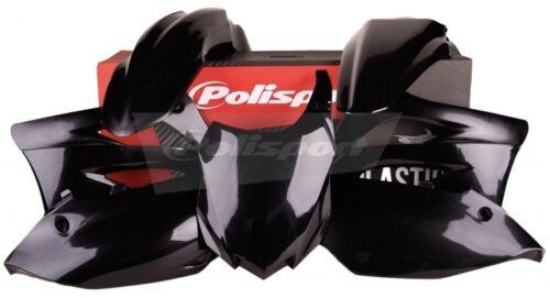 Kawasaki KXF450 13-15 BLACK Polisport Plastic Kit Set