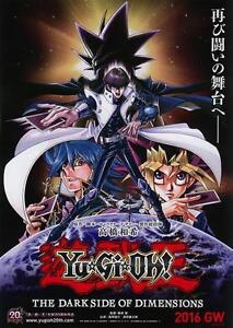 Yu-Gi-Ho-Dark-Dimension-Japanese-Anime-Chirashi-Mini-Ad-Flyer-Poster-2016-B