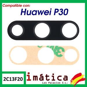 CRISTAL-DE-LA-CAMARA-LENTE-PARA-HUAWEI-P30-TRASERA-DETRAS-PRINCIPAL-NEGRO