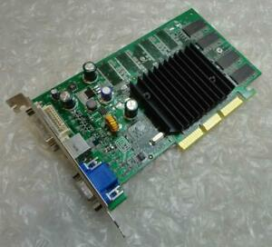 64MB Dell 08Y485 8Y485 Nvidia FX5200 VGA DVI AGP Carte Graphique
