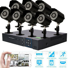 8X 1300TVL 8CH HDMI 960H DVR IR Waterproof Outdoor CCTV Security Cameras System