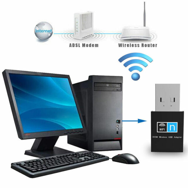 150M usb2.0 wifi wireless adapter network internet lan card 802.11n mini desktop