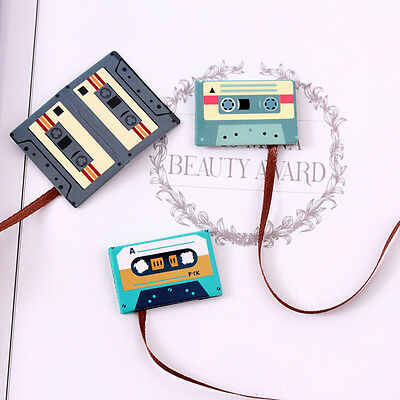 1x Cartoon Animals Magnetic Bookmarks Note Memo Stationery Book Mark Bookworm NT