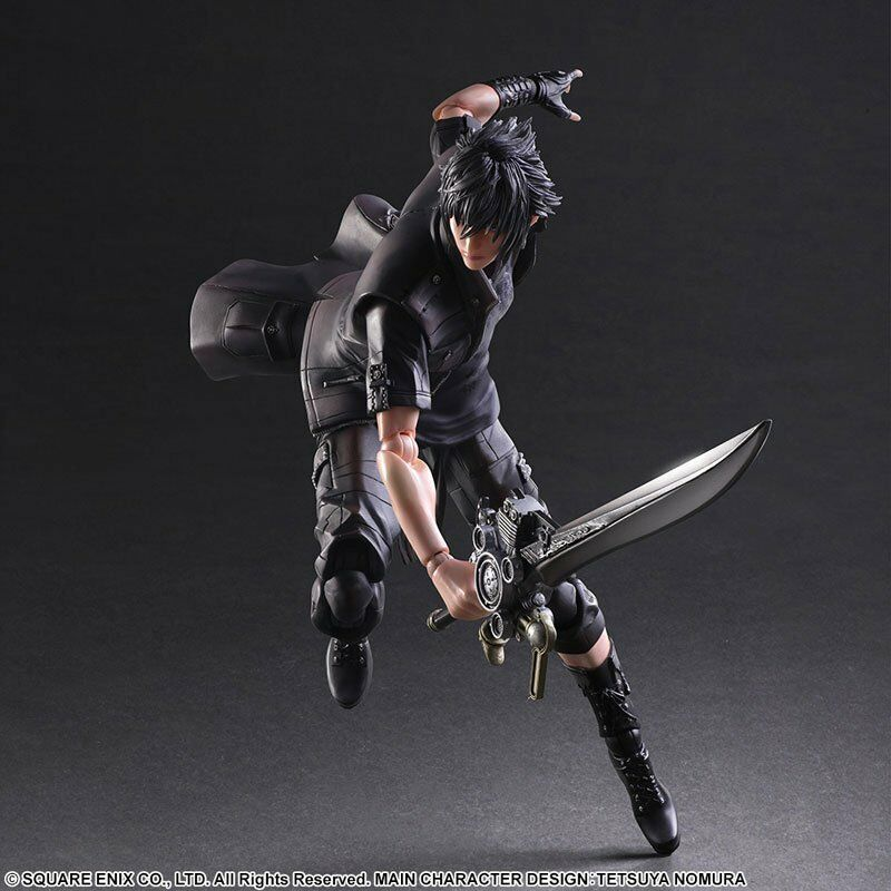 Play Arts Kai Final Fantasy XV Noctis Lucis Caelum PVC Action Figure Nuovo In Box