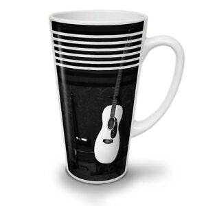 Acoustic Guitar NEW White Tea Coffee Latte Mug 12 17 oz | Wellcoda
