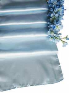 Pale-Blue-Satin-Table-Runners-Chair-Sashes-Pack-10-Wedding-Event-Party-Decor