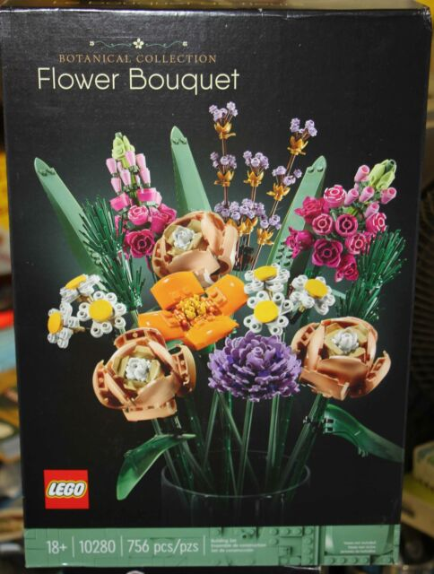 LEGO Flower Bouquet 10280 Building Kit (756 Pieces) In Hand Ready To Ship