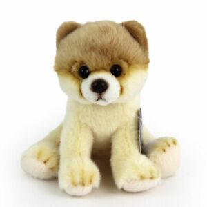 Stofftier kleiner, Pomeranian, sitzend, Hund, Plüschtier (H. ca. 13 cm)