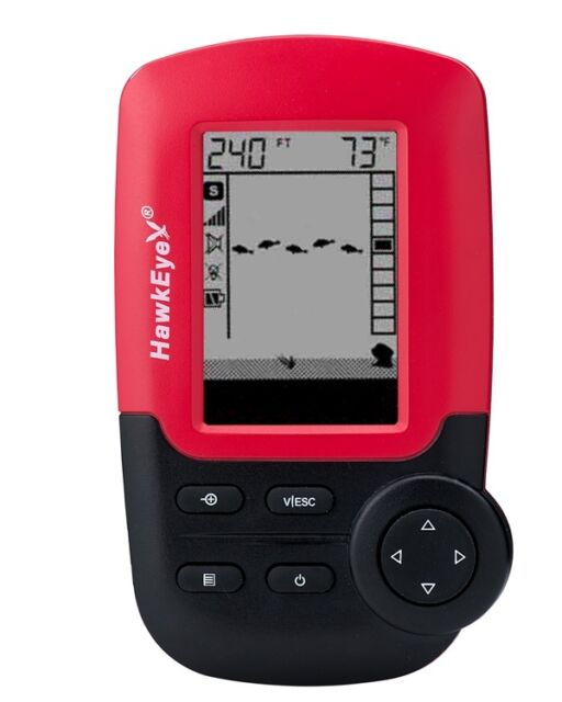 HawkEye FISHTRAX™ 1 | PORTABLE FISH FINDER WITH VIRTUVIEW™ ICON DISPLAY