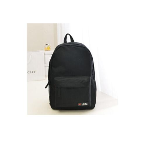 Women Men Shoulder Canvas Backpack College Rucksack School Book Bags Travel Bag
