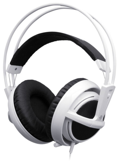 Green SteelSeries Siberia V2 Full-Size Gaming Headset ONLY IL//RT6-13098-51...