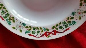4 Vintage 12 Days of Christmas Dinner Plates Domestications ...