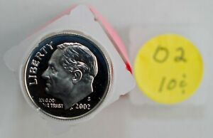 UNITED  STATES   10 Cents   2002 S    PROOF  *