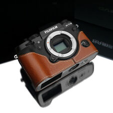GARIZ Leather Half Case Fujifilm Fuji X-T2 XT2 XS-CHXT2CM Camel Brown