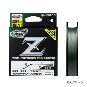 Shimano-Spectres-Power-Pro-Z-Vert-Mousse-Tresse-Fil-200m-Selectionner-Lb