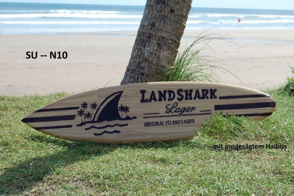 WOODEN 100cm MODEL ORNAMENTAL RETRO SURFBOARD surfer surf board beach  su100N10