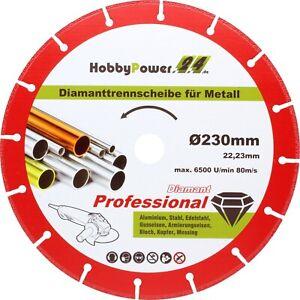 Diamanttrennscheibe-115-125-230mm-Metall-Eisen-Stahl-fuer-Winkelschleifer-Flex