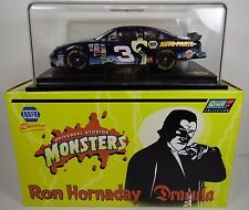 2000 RON HORNADAY CHEVY 1:24 NASCAR #3 NAPA UNIVERSAL MONSTERS DRACULA WITH CASE