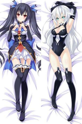 BL Anime Hyperdimension Neptunia Noire Dakimakura Hugging Body Pillow Case Cover