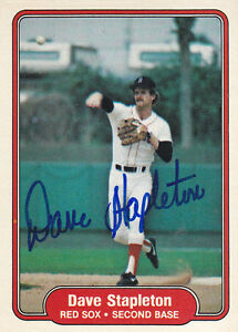 1982-Fleer-Signed-308-Dave-Stapleton-Red-Sox-Autograph-JSA-2B-1B