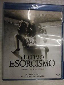L'ULTIMO ESORCISMO FILM IN BLU-RAY NUOVO DA NEGOZIO - COMPRO FUMETTI SHOP