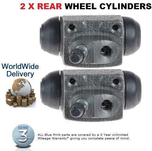 Für Hyundai Pony X2 1.3 1.5 S COUPE 1.5 1990-1996 2 X Hintere Brems- Radzylinder