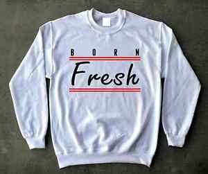 1272cced35832f Mens Crewneck Sweatshirt 4 Jordan White Cement 3 4s Bred 11s Cherry ...