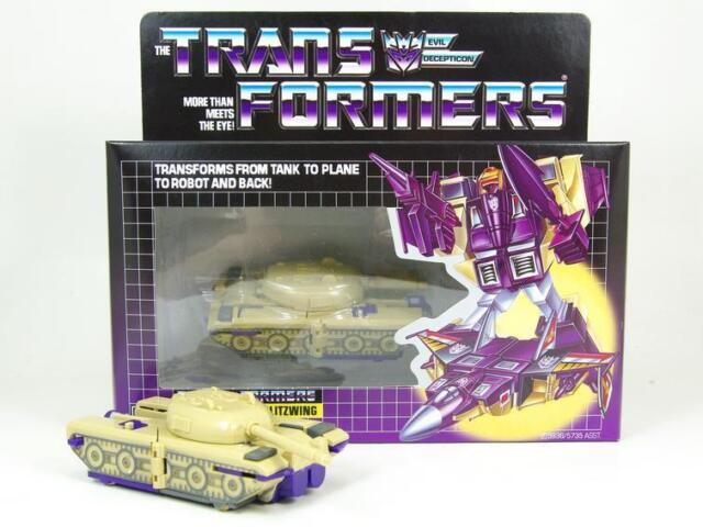 TRANSFORMERS G1 Reissue Blitzwing Kids Toy Action figure brand new