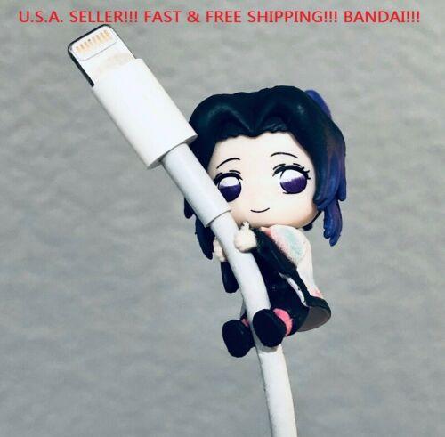 BANDAI Demon Slayer Kimetsu no Yaiba Cable Clinger Hugcot Toy Shinobu Kocho