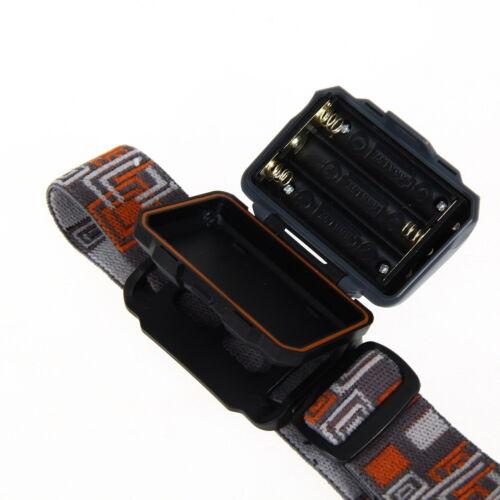2 LED 4 Modus Stirnlampe Licht 1200LM Mini Super Bright Scheinwerfer R3
