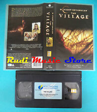 VHS film THE VILLAGE 2005 Joaquin Phoenix Andrien Brody TOUCHSTONE (F66) no dvd