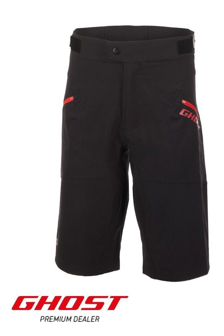 Ghost RIDE LINE Shorts Pantaloni bicicletta, MTBShort, Mountain Bike Pantaloni Nuovo  125