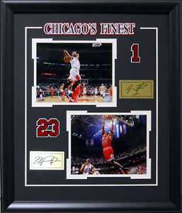 9ff15df7ce84 Image is loading Chicago-Bulls-Finest-Derrick-Rose-Michael-Jordan-Deluxe-